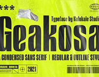 Geakosa Display Sans Serif Font