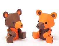 LE PAPER GO - Bear