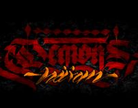 Demons Haxan Calligraphy