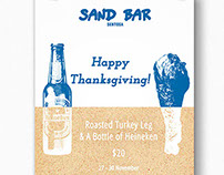 Thanksgiving @ Sand Bar