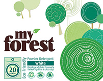 My Forest powder detergent & softener