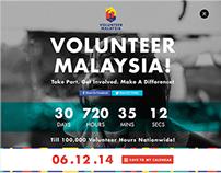 Volunteer Malaysia - UI/ Websites