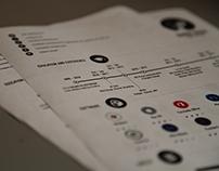 Infographics CV - Resume