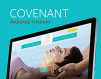 Covenant massage therapy website