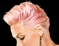Pink (low poly)