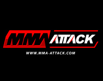 MMA Attack Corporate Idenitiy