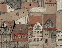 little village houses