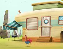 concept art(caravan)