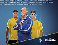 Official Barber Brazilian Team - Gillette