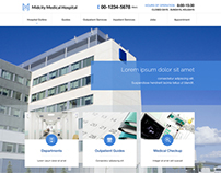 Medical Website Concept (PSD)