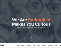 Springfield - Responsive Parallax WordPress Theme