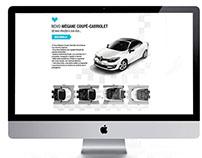 Renault Newsletter Design (April 2014)