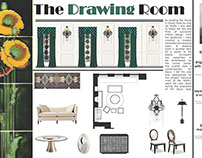 The Drawing Room- Inspired by Elsie De Wolfe