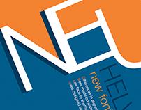 Helvetica Poster Font