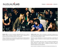 Inusual Films – Web Design