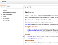 Optum WebHelp Responsive UI Development