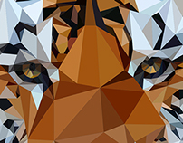 Geometric/Low Poly Animal Portraits