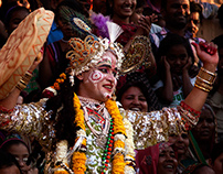 "\ ""Festival of colour"" - Vrindavan //"