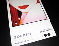 Goddess Art Show Invitation