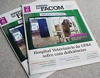 Jornal da FACOM - Marca e Projeto Gráfico