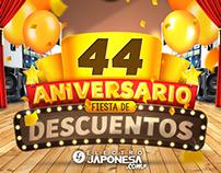 Fiesta de Aniversario Electrojaponesa.