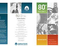 Diseño Editorial - Legislatura 80 años