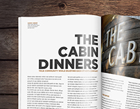 Cabin Dinners Magazine