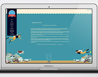 Illustrated Scuba Web Design