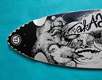 longboard: deck-drawing