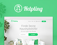 Helpling - Website