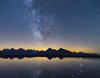 Alpine Night Skies