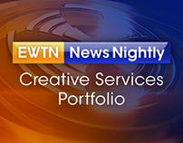 EWTN News Nightly: Creative Services Portfolio