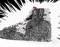 New sneaker art