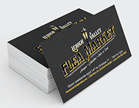 Flea Market Lehigh Valley Logo & Business Card Design