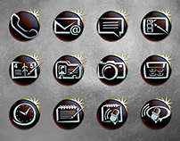 Luxury Phone Icon Set