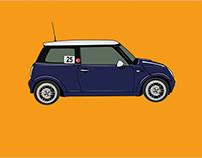 Mini Cooper Illustration