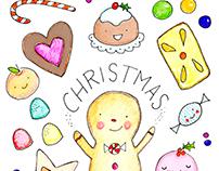 Custom Christmas Art Print