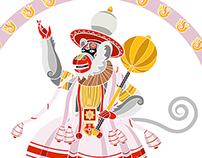 Hanuman Kathakali