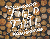 Branding // Field & Table Photography