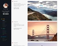 Portfolio Timeline Page