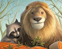 Lion&Raccoon