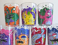 Monster Shot Glasses
