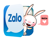 THE STICKER: Bunnie for zalo chat