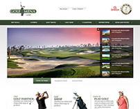 Golf MENA Website