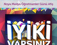 Noya Medya - Afiş Çalışması - Flyer Work
