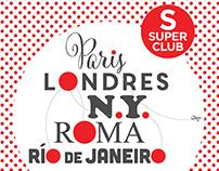 Editorial: Aviso Santander Río / SuperClub