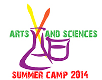 Arts and Science Summer Camp Logo Design
