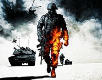 Battlefield Bad Company 2 Key Art