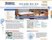 Scarrit Pools & Spas - Website Design & Development