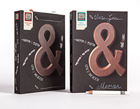 FAIR TRADE ORIGINAL Ampersand chocolate letter